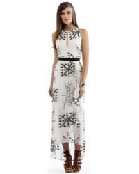 Twelfth Street by Cynthia Vincent Elastic Waist Maxi Dress - Lyst