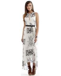 Twelfth Street Cynthia Vincent Elastic Waist Maxi Dress - Lyst
