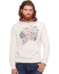 Denim & Supply Ralph Lauren Headdress Fleece Hoodie - Lyst