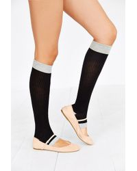 Urban Outfitters Toeless Knee High Socks - Lyst
