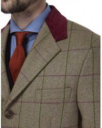 Jules B - Wool Tweed Overcoat - Lyst