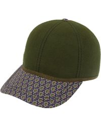 Christys' - Green Liberty Print Seth Rankine Baseball Cap - Lyst