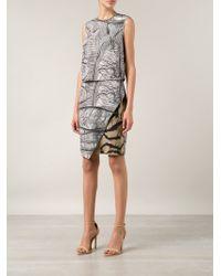 Yigal Azrouel Abstract Print Dress - Lyst