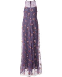 Mary Katrantzou Embellished Layered Gown - Lyst
