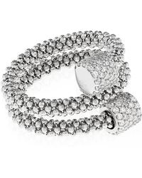 Links of London - Star Dust Silver Bead Wrap Ring - Lyst