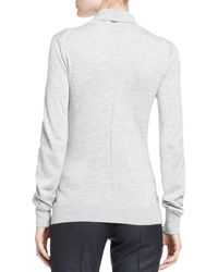 The Row Linden Turtleneck Top - Lyst