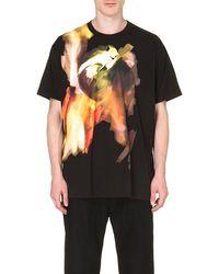 Givenchy Blurred-print T-shirt - Lyst