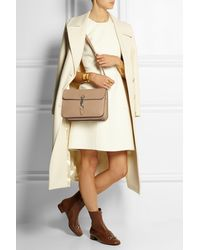 Gucci Jackie Textured-leather Shoulder Bag - Lyst
