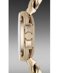 Burberry Brit | The Britain Bby1952 26mm Diamond Indexes | Lyst