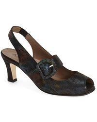 Anyi Lu | Tulip Slingback Court Shoes | Lyst