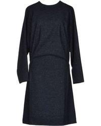 Henrik Vibskov Kneelength Dress blue - Lyst