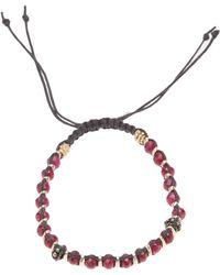 Stones Of Character - Woven Macramã Bracelet - Lyst