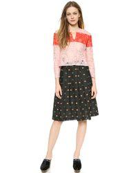 Rachel Comey Monte Lace Top - Pink - Lyst