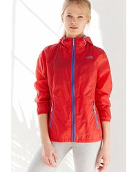 The North Face Cyclone Hooded Jacket red - Lyst