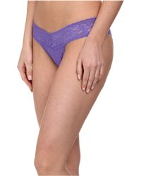 Hanky Panky Signature Lace Low Rise Thong 5-Pack multicolor - Lyst