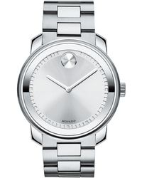 Movado Bold 42.5 Stainless Steel Watch - Lyst