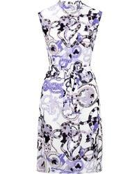 Mary Katrantzou Tinda Dress Viper Multi - Lyst
