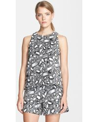 Opening Ceremony Layered Frond Print Tank - Lyst