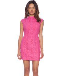 Mink Pink Singapore Sling Dress - Lyst