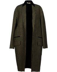 Celine Green Coat - Lyst