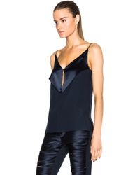 Dion Lee - Silk Satin Bias Fold Cami - Lyst