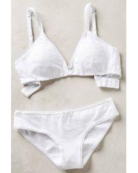 Eberjey Pima Low-Rise Bikini - Lyst