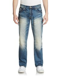 PRPS Distressed Straight-Leg Jeans - Lyst
