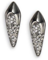 Alexis Bittar Miss Havisham Pavã Crystal Kite Post Earrings - Lyst