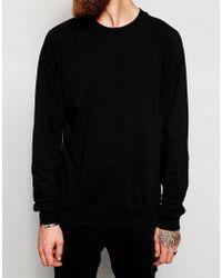 American Apparel Pique Raglan Sweatshirt - Lyst