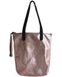 Wayward Metallic Copper Leather Tote - Lyst