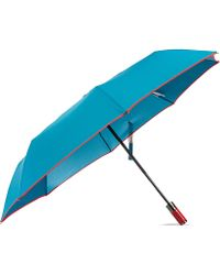 Hunter Small Automatic Umbrella Peacock Red - Lyst