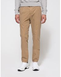 AMI | Pleated Chino Trousers | Lyst
