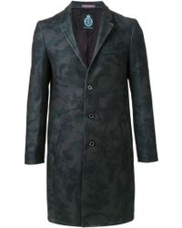 Guild Prime - Camouflage Print Coat - Lyst