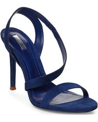 Schutz Blue Tabacema Sandals - Lyst
