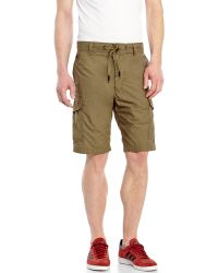 Diesel Gerty Cargo Shorts green - Lyst