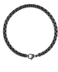 David Yurman Pvd-coated Box-chain Bracelet - Lyst