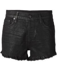 Ksubi Fringed Denim Shorts - Lyst