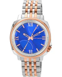 Vince Camuto - Mens Veteran Two-tone Watch - Lyst