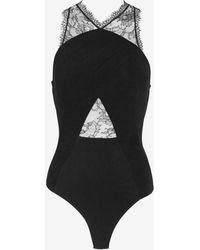 Noam Hanoch - Lisi Lace Body Suit - Lyst