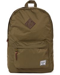 Herschel Supply Co. Heritage Backpack In Nylon - Green - Lyst