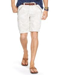 Polo Ralph Lauren Straight-Fit Camo Cargo Short - Lyst