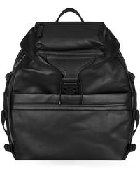 Alexander McQueen Leather Tech Backpack - Lyst