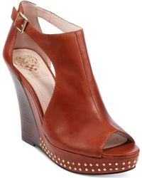 Vince Camuto Waylin3 Platform Wedge Sandals - Lyst