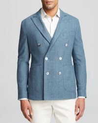 Hardy Amies Double Breasted Sport Coat - Regular Fit - Bloomingdale'S Exclusive - Lyst