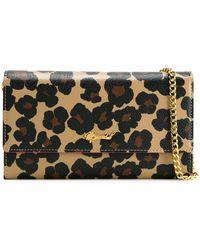 MUVEIL - Leopard-Print Cross-Body Bag - Lyst