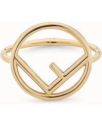 Fendi - Logo Bracelet Logo Bracelet - Lyst