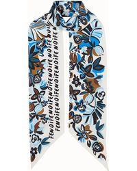 Fendi - Flowers Maxi Wrappy - Lyst