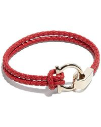 Ferragamo - Gancio Braid Bracelet - Lyst