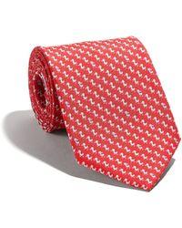Ferragamo - Duckling-print Tie - Lyst