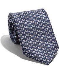 Ferragamo - Dog Printed Tie - Lyst